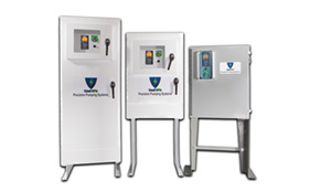 Energy efficient and environmentally friendly enclosure for VFDs, engineered by Naab Electric, a leading manufacturer of geothermal-cooled enclosures for variable frequency drives and electrical equipment.
