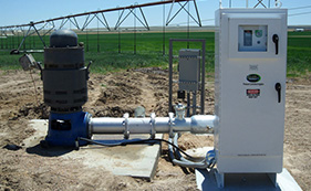 Naab Electric Installs Cool VFD Precision Pumping Systems at client locations. Cool VFD offers significant savings by reducing energy costs up to 75% while keeping the drive cool and protected.